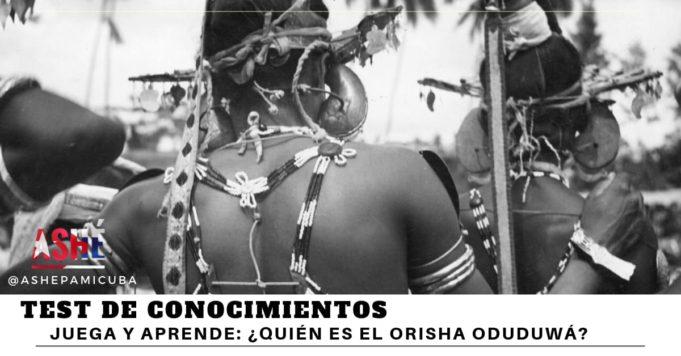 Orisha Oduduwá Oddúa
