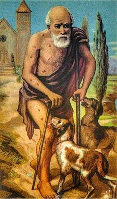 Estampa de San Lázaro