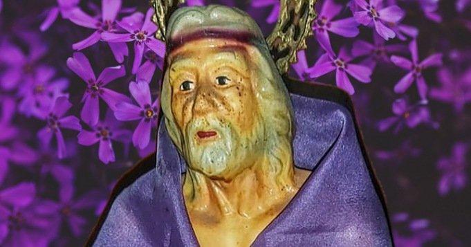 Obra con San Lázaro para la salud