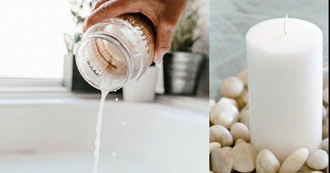 Baños de Obatalá con leche