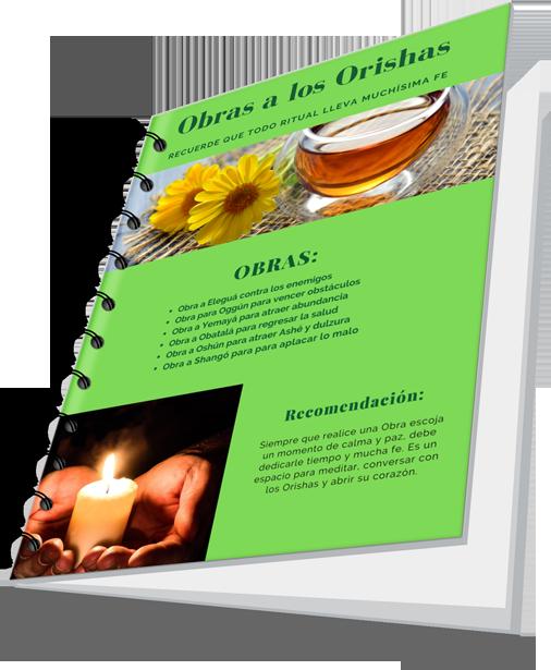 Libro Obras a los Orishas