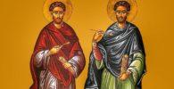 Historia de san Cosme y san Damián
