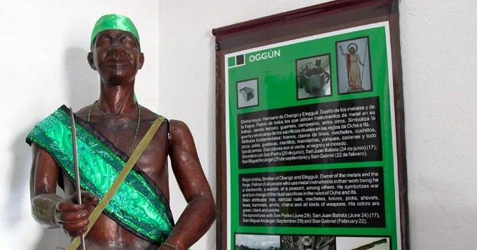 Representación del Orisha Oggún