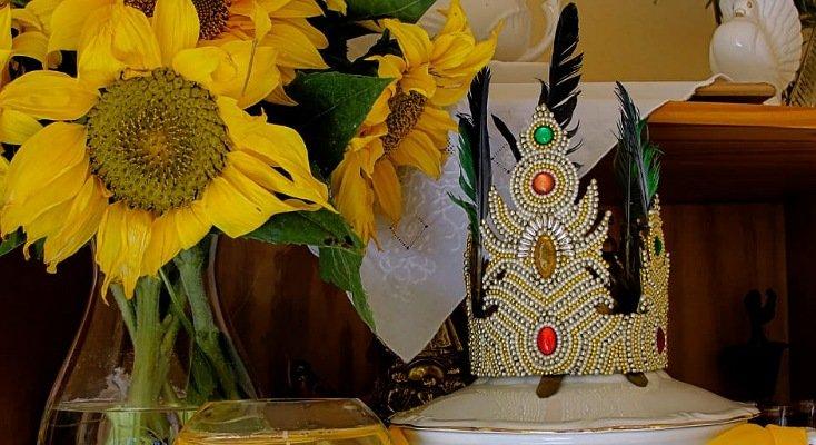 Girasoles para la diosa Oshún