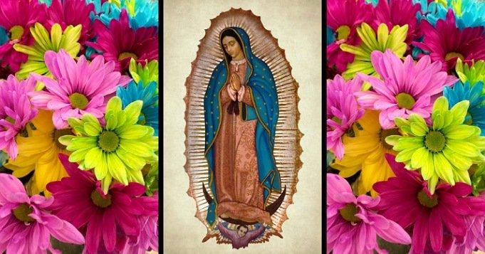 Diciembre 12 virgen de Guadalupe