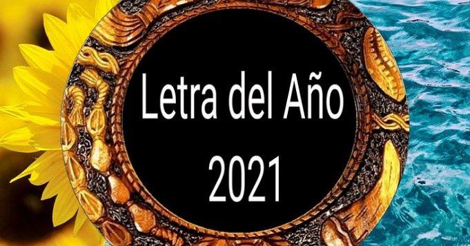 2021 Letra del año