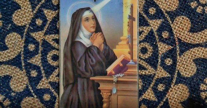 Santa Rita de Casia abogada de lo imposible