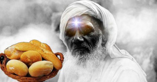 Baños espirituales de Obatalá con pan