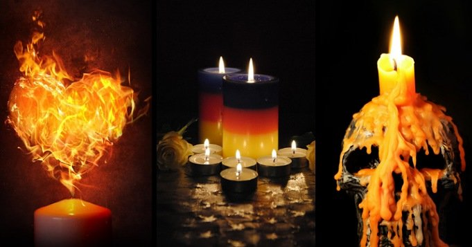 Forma de velas significado