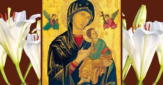Oraciones a la Virgen del Perpetuo Socorro