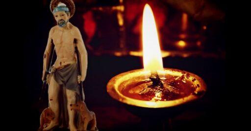 Ofrenda para San Lázaro